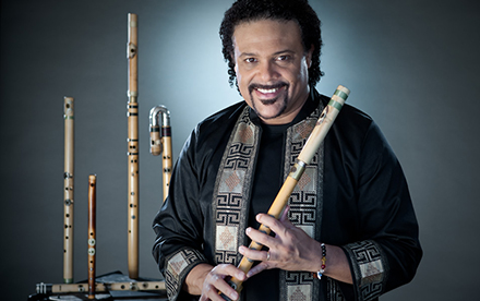 Home Page of Multidirectional Flute Soloist Pedro Eustache